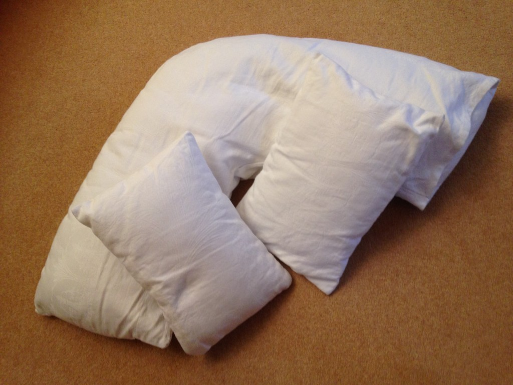 Sleep - photo of 3 pillows